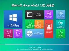 雨林木风Windows8.1 2021.04 32位 优化纯净版